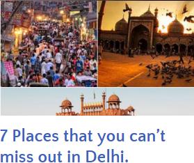 7 Place in delhi